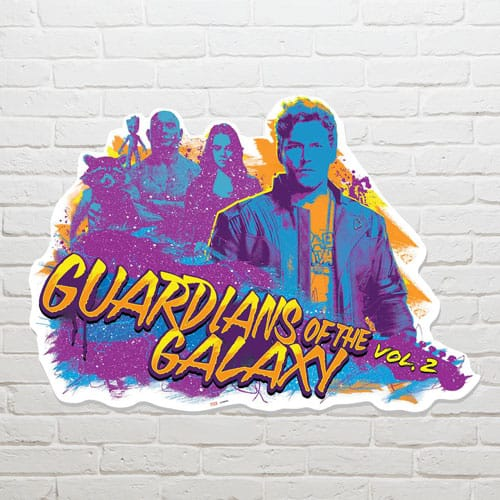 Guardians of the Galaxy Guitar Wall Art 65 x 92cm