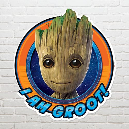 Guardians of the Galaxy I am Groot Wall Art 73 x 66cm