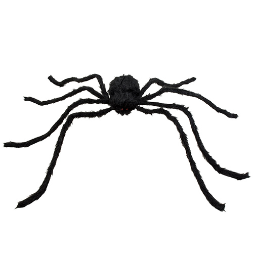 Hairy Spider XL Halloween Prop Decoration 130cm Product Image