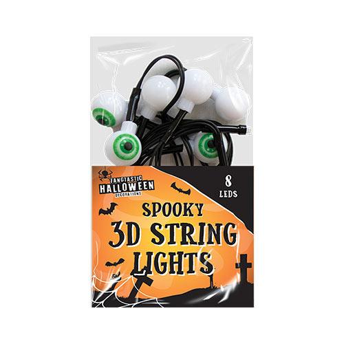 Halloween 3D Eyeball lights Decoration 160cm Product Image