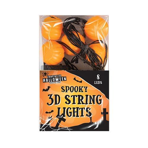 Halloween 3D Pumpkin Lights Decoration 160cm Product Image