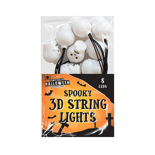 Halloween 3D Skull lights Decoration 160cm Product Image