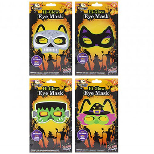 Halloween Assorted Glow Eye Mask Product Image