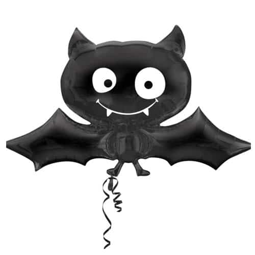 Halloween Bat Helium Foil Giant Balloon 60cm / 24 in Product Image