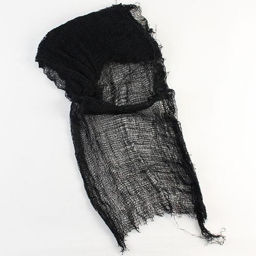 Halloween Black Creepy Cloth Decoration Product Image