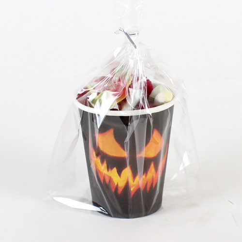 Halloween Creepy Pumpkin Candy Cup 140g