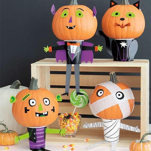 Halloween DIY Mini Pumpkin Decorating Kit