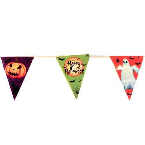Halloween Flag Plastic Bunting 365cm Product Image
