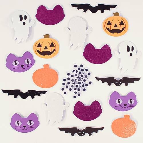 Halloween Foam Stickers - Pack of 24
