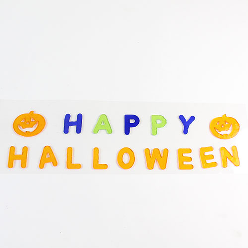 Happy Halloween Gel Stickers Decoration Product Image