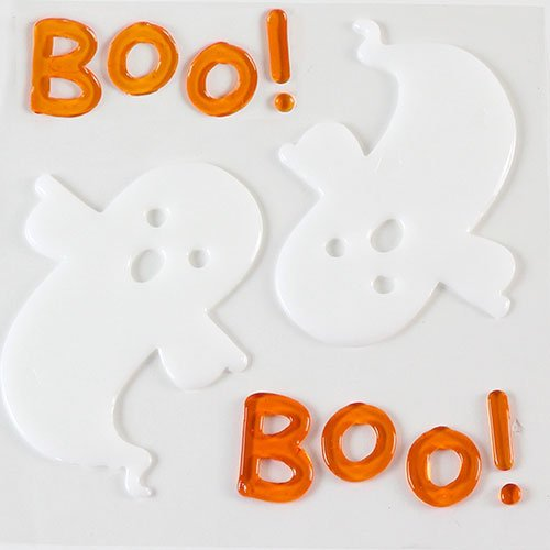 Ghosts Halloween Gel Stickers Window Decorations Product Image