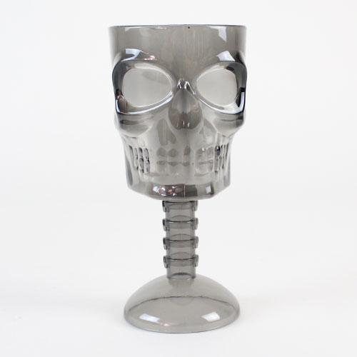 Halloween Smoke Black Ghoulish Reusable Plastic Glass