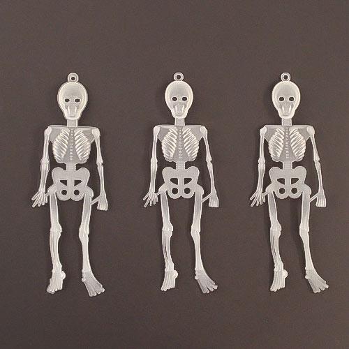 Halloween Glow in the Dark Skeletons 16cm - Pack of 16 Product Image