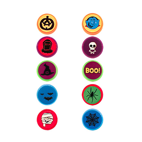 Halloween Mini Character Stamps - Pack of 10 Product Image