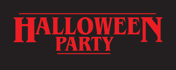 Halloween Party Strange Thing PVC Party Sign Decoration 60cm x 25cm Product Image