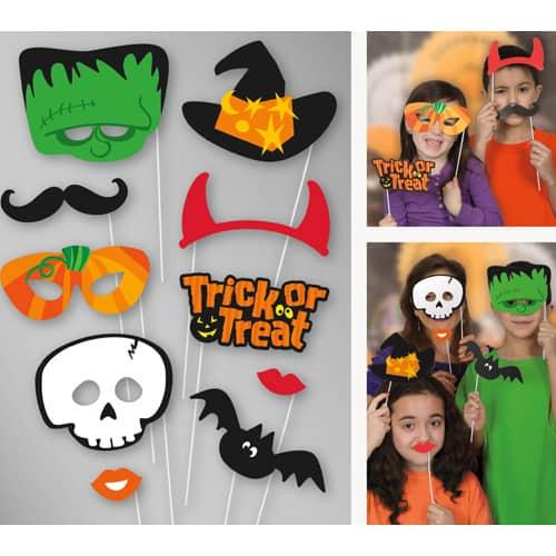 Halloween Photo Prop Accessories – Pack of 10