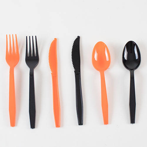 Halloween Assorted Plastic Cutlery - Pack of 18 Product Image