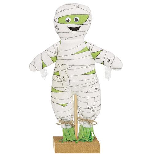 Halloween Prop Mini Standing Mummy Decoration 30cm
