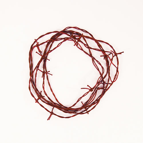 Halloween Rusty Barbed Wire Garland Hanging Decoration 370cm Product Image