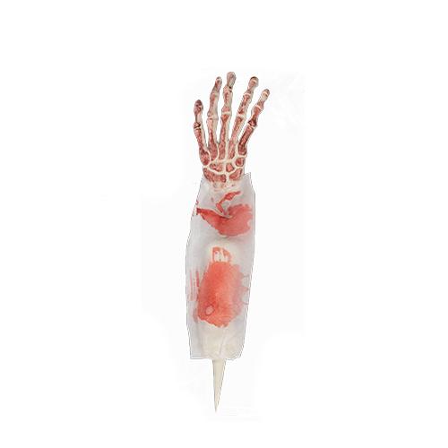 Halloween Skeleton Arm Garden Stake 40cm