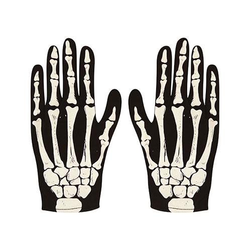 Halloween Skeleton Children Fancy Dress Gloves