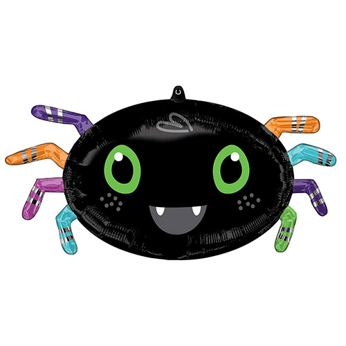 Halloween Spider Shape Helium Foil Giant Balloon 63cm / 25 in Product Image