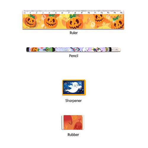 Halloween Stationery Favour Set Product Image