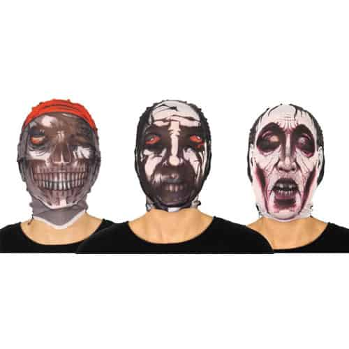 Halloween Stocking Mask Assorted Designs Product Image