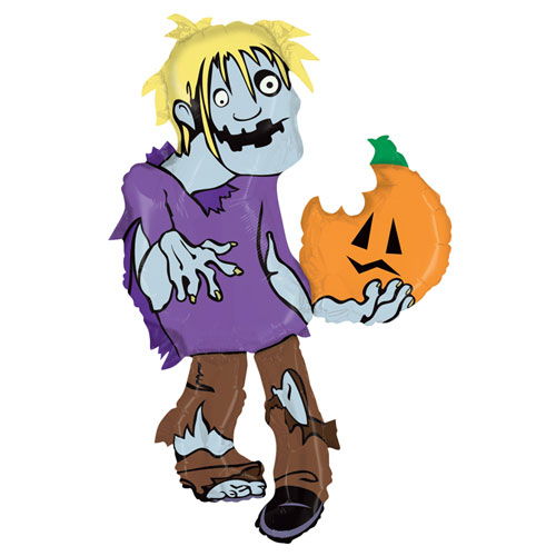 Halloween Zombie Helium Foil Giant Balloon 117cm / 46 in Product Image