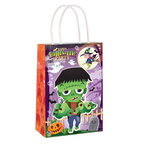 Happy Halloween Paper Bag With Handles 21cm