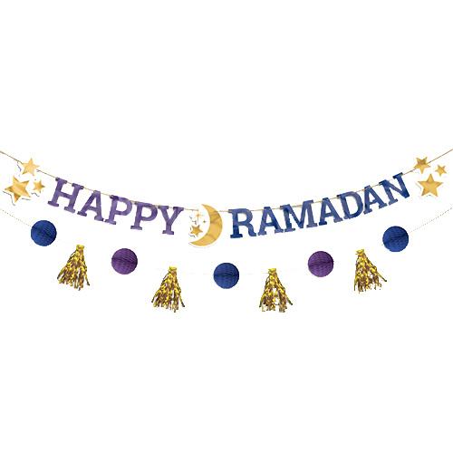 Happy Ramadan Letter Banner Kit Product Image