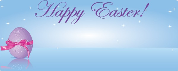 Happy Easter Wrapped Up Egg Design Large Personalised Banner - 10ft x 4ft
