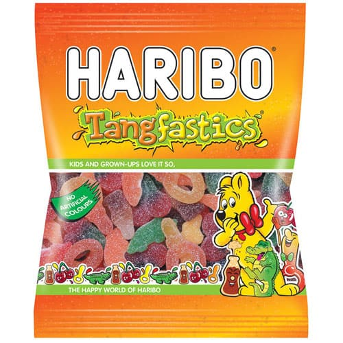 Haribo Fizzy Fun Gums Tangfastics