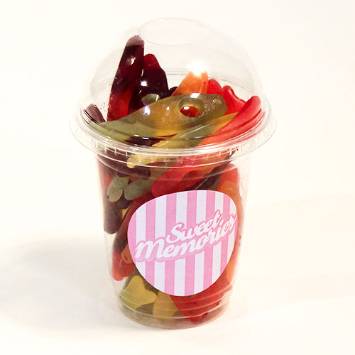 Haribo Freaky Fish Fruit Flavour Jelly Sweets - 12 oz