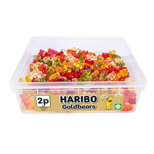 Haribo Goldbears Fruit Flavour Jelly Sweets - Pack of 375 Product Image