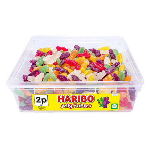 Haribo Jelly Babies Fruit Flavour Jellies Sweets - Pack of 375 Product Image