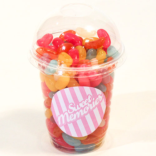 Haribo Jelly Beans Assorted Flavour Sugar Coated Sweets - 12 oz