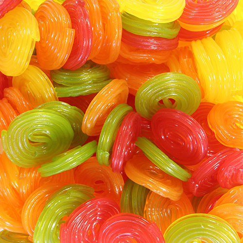 Haribo Rotella Drum Fruit Flavour Jelly Sweet