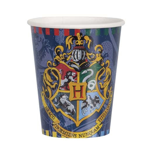 Harry Potter Paper Cups 250ml - Pack of 8 Bundle Product Image