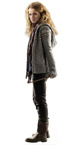 Harry Potter & the Deathly Hallows Hermione Granger Lifesize Cardboard Cutout - 170cm