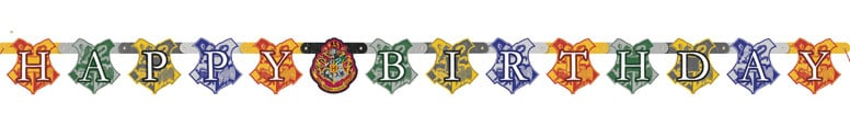 Harry Potter Happy Birthday Jointed Banner 182cm Bundle Product Image