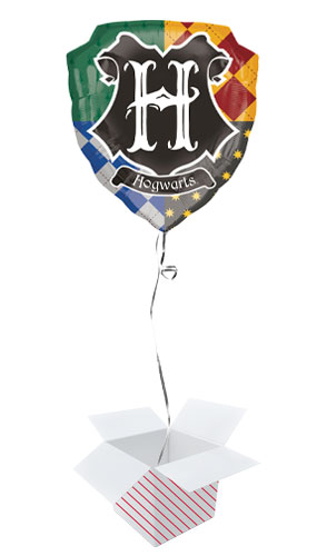 Harry Potter Hogwarts Helium Foil Giant Balloon - Inflated Balloon in a Box Product Image