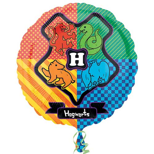 Harry Potter Hogwarts Round Foil Helium Balloon 43cm / 17 in Product Image
