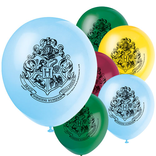 Harry Potter Latex Helium Balloons 30cm / 12 in - Pack of 8 Product Image