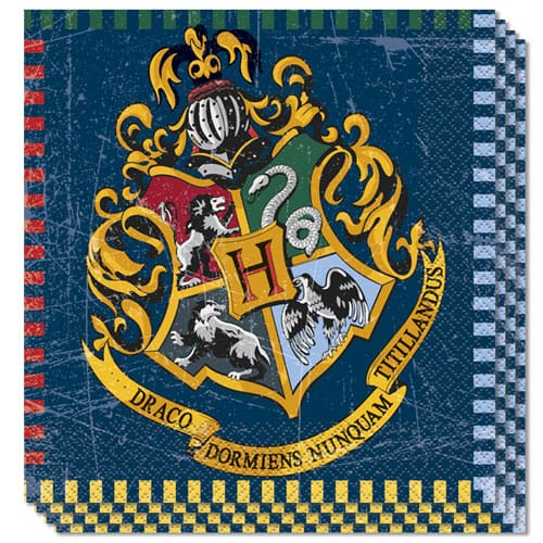 Harry Potter Luncheon Napkins 33cm 2Ply Pack of 16 Bundle Product Image