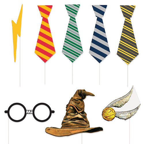 Harry Potter Photo Booth Props - Pack of 8