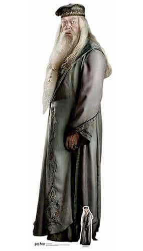 Harry Potter Professor Albus Dumbledore Lifesize Cardboard Cutout 184cm Product Image