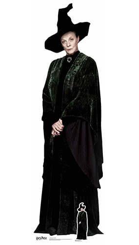 Harry Potter Professor McGonagall Lifesize Cardboard Cutout 189cm Product Image
