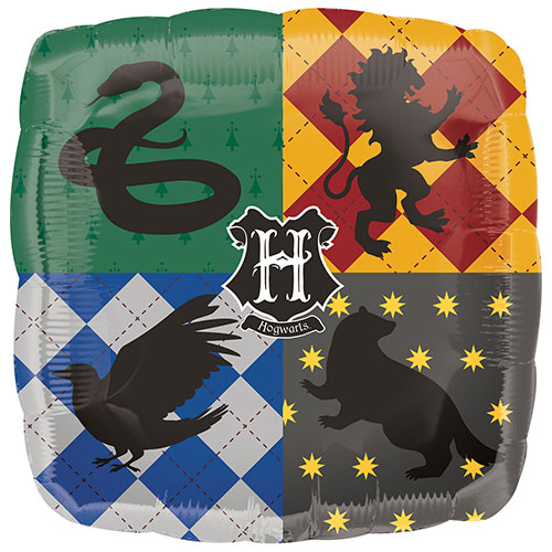 Harry Potter Square Foil Helium Balloon 43cm / 17 in Product Image