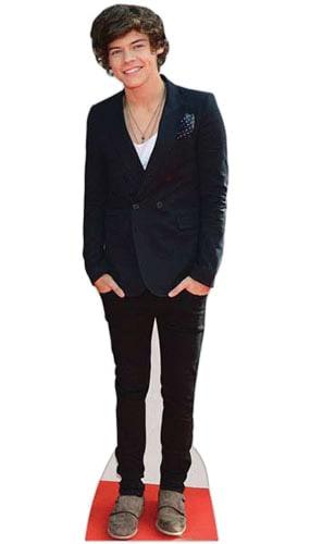 Harry Styles Boyband Lifesize Cardboard Cutout - 175cm Product Image